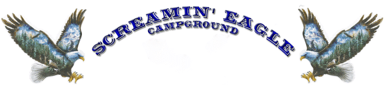 Screamin' Eagle Campground and RV LLC, a Washington Limited Liability Company d/b/a Screamin' Eagle Campground & RV. All rights reserved.